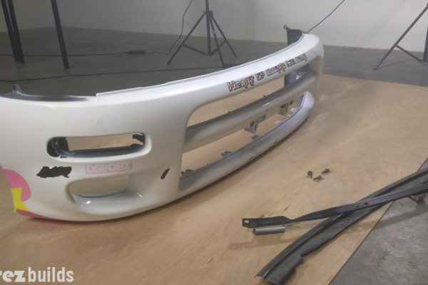 Production Update for the Vicrez Toyota Celica 1990 – 1993 GT4 ST185 Carlos Sainz Polyurethane Front Bumper vz100627